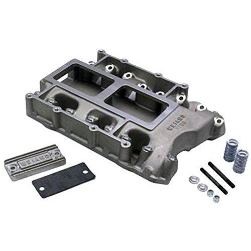 Weiand 7138Win 6-71 392 Hemi Supercharger Intake Manifold (Supercharger Manifold Satin)