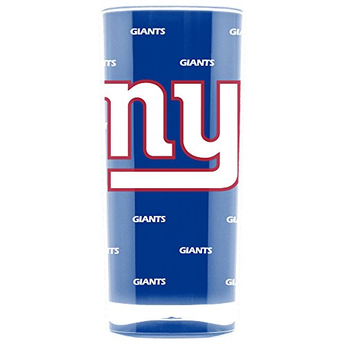 New York Giants Glass - NFL New York Giants 16oz Insulated Acrylic Square Tumbler