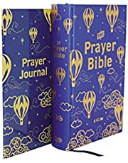 ICB, Prayer Bible for Children, Navy/Gold, Hardcover: International Children's Bible