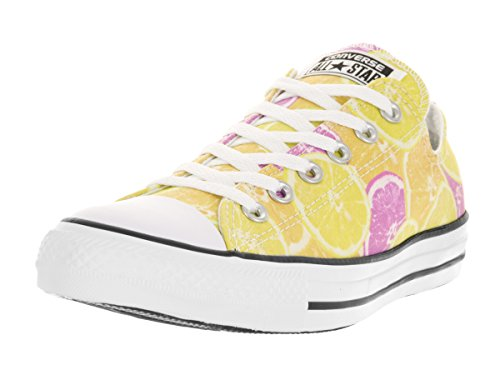 Yellow Star Hi All unisex Converse Orange Zapatillas Pink 1UqARf