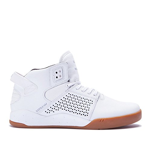 Supra Mens Skytop III White Gum Shoes Size (Muska Skytop Mens Shoes)