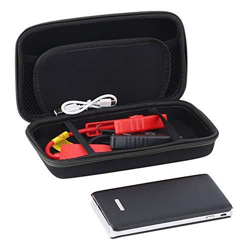 Fashionlook 30000mAh Portable Car Jump Starter Pack Caricabatterie Booster LED Caricabatteria Caricabatteria Portatile di Emergenza per avviamento di emergenza-Black-30000ma