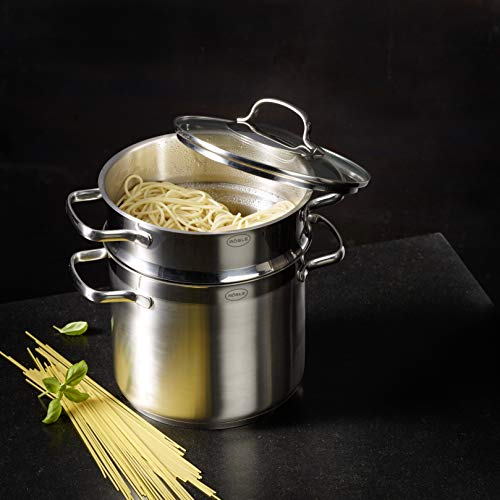 Rosle Stainless Steel Pasta Pot with Glass Lid, One Size by Rosle (Image #1)