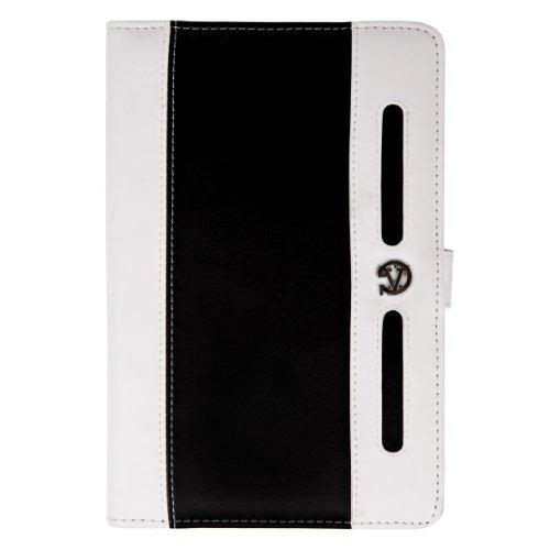 Black & White Travel Wallet Case for HP Mesquite 1800 7-inch Tablet ()