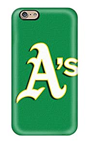 Durable Protector Case Cover With Oakland Athletics Hot Design For Iphone 6