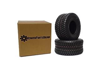 (2) Wanda 18x8.50-8 Tires 4 Ply Lawn Mower Garden Tractor 18-8.50-8 Turf Master Tread