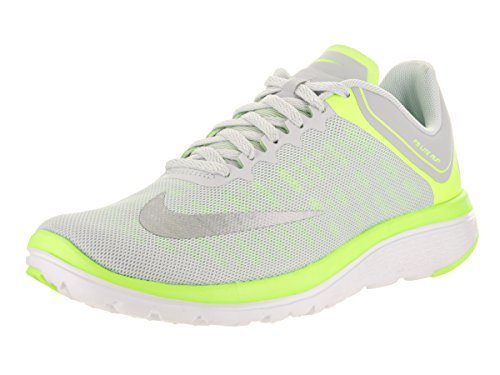 2015 cheap price outlet store locations NIKE Women's FS Lite Run 4 Running Shoe Pure Platinum/Mtlc Silver/Volt/White UAOXR