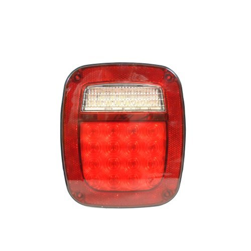 Trailer RV Truck LED Brake Light and Turn Signal with Reverse RV Back Up Light (38 L.E.D.) by EZ Travel Collection