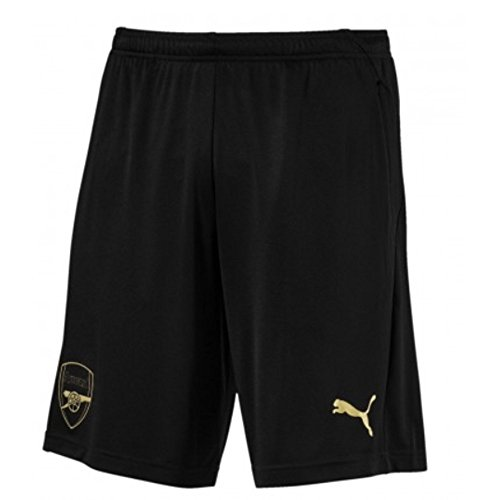 PUMA 2018-2019 Arsenal Training Shorts (Black) - Arsenal Short