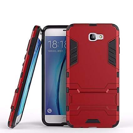 5acb0033d4d Funda Protector Case Uso Rudo para Galaxy J7 Prime SM-G610M. Incluye  Cristal Templado