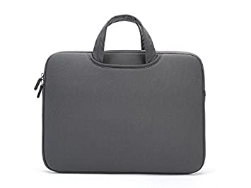 Maleta para computador portátil, Bolso del Bolso del Ordenador portátil de la Tableta 11-12inch para el niño del Estudiante Man Women Bolsa de Lona: ...