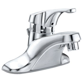 American Standard 2385.011.002 Reliant Single-Control Lavatory Faucet with Extra Long Metal Lever Handle and Vandal Resistant Spray, Chrome
