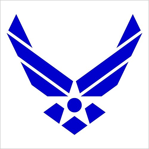 Custom-Color-USAF-US-Air-Force-Wings-Car-Truck-Notebook-Vinyl-Decal-Sticker