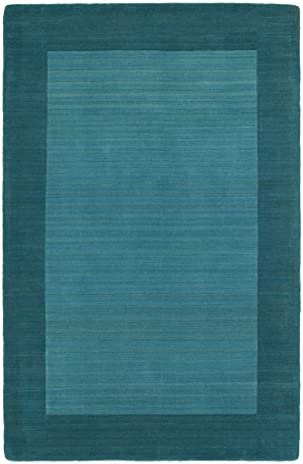 Kaleen Rugs Regency Collection 7000-78 Turquoise Hand Tufted 3 6 X 5 3 Rug_Parent