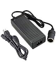 Digit.Tail 12V/10A 120W Mains AC to DC Power Adapter [100V~240V to 12V] Car Cigarette Lighter Socket Voltage Transformer Converter for Vehicle Refrigerator/Vacuum /Diffuser/Inflator