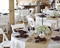 Incroyable Burlap Table Runner: 78x15 Inch Jute Burlap Table Runner For Country  Wedding Decorations Bridal Shower
