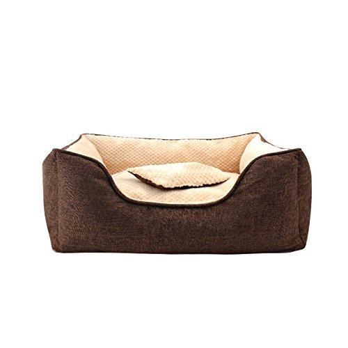 vendite online CHONGWUCX Inverno Addensare Nido Nido Nido Pet casa Pet lettiera Piccola yurta canile Lavabile  a prezzi accessibili