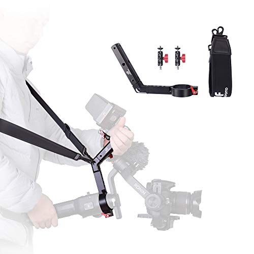 DF DIGITALFOTO Terminator Hang Strap Mounting Clamp Accessories Compatible with DJI Ronin S Gimbal Making It Like ZHIYUN WEEBILL LAB Crane 3 Setup Desgin
