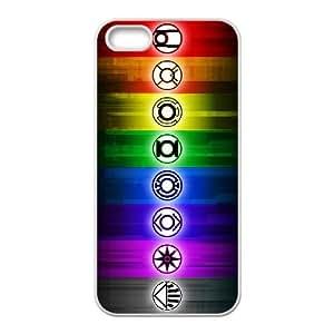 Green Lantern 001 iPhone 4 4s Cell Phone Case White TPU Phone Case RV_565387
