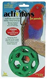 JW Pet Company Activitoys Hol-ee Roller Bird Toy ( Color May Vary )