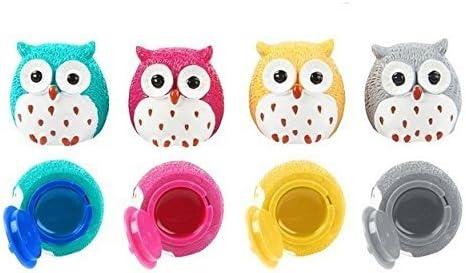 Lote de 20 Bálsamos Labiales Búhos - Bálsamos de Labios Lip gloss Detalles de Bodas - Brillos de Labios, Lipgloss, Bálsamos Labiales Baratos Bodas