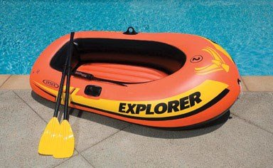 Man Inflatable Boat - 7