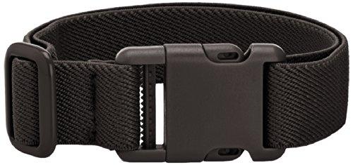Playshoes Unisex - Kinder Gürtel 601400 Elastischer Kinder Gürtel mit Clip Verschluss, Gr. one size, Schwarz (schwarz)