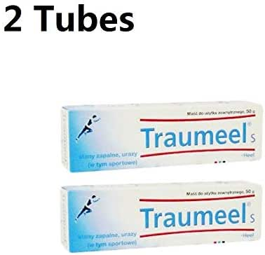 Traumeel S Ointment Anti-inflammatory Pain Relief, 50g, (Pack of 2)