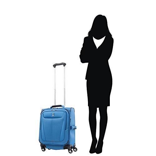 Travelpro Luggage Maxlite 5 International Expandable Carry-on Spinner, Azure Blue