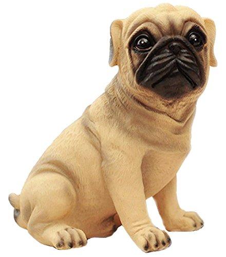 Puppy Bank - MathewArt High Emulation Resin Creative Cute Puppy Pug Dog Piggy Bank Coin Box