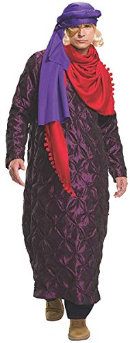 Rubie's Costume Co Zoolander 2 Hansel's Gold & Purple Costume & Wig, Multi, -