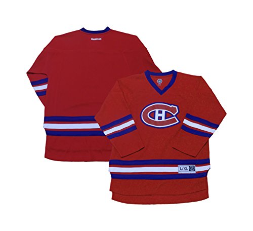 Montreal Canadiens Red Premier Team Logo Home Men's Jersey (Large/X-Large)