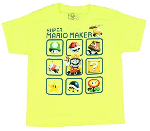 Mario Maker Short Sleeve Shirt product image