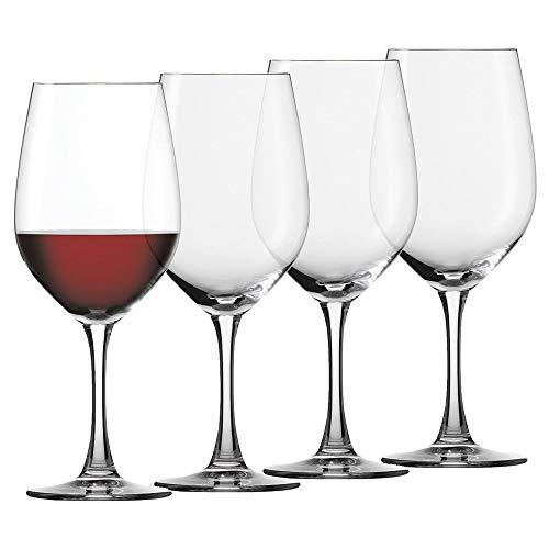 Spiegelau Wine Glass Red - Spiegelau Winelovers Bordeaux Wine Glass, Set of 4