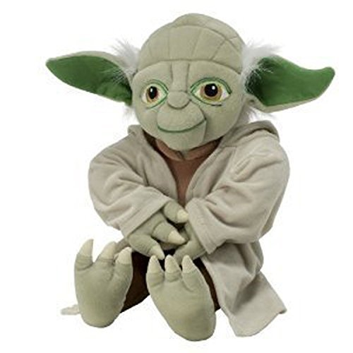 "18"" Pillowtime Pal Yoda Star Wars Plush Pillow"