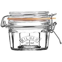 Kilner Glassware Facetted Clip Top Jar, 8-1/2-Fluid Ounces