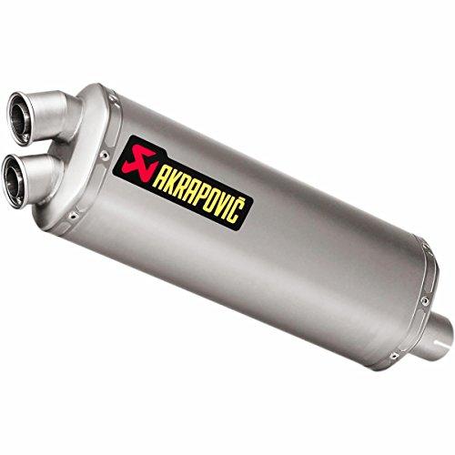 Full Titanium Muffler (Akrapovic Slip-On - Titanium Muffler SH10SO16WT)