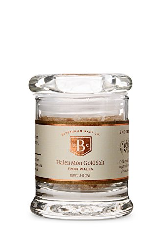 Halen Mon Sea Salt - Bitterman's Halen Mon Gold Smoked Sea Salt - Small Jar