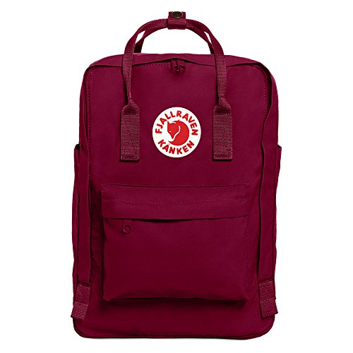"Fjallraven - Kanken Laptop 15"" Backpack for Everyday, Plum"