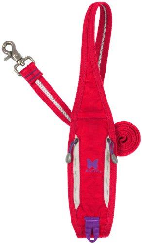 Alite Designs Boa Lite Leash + Bag Dispenser (Red), My Pet Supplies