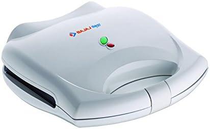 Bajaj Majesty SWX400 700-Watt Grill Sandwich Toaster (White)