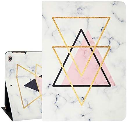 Marble Golden Triangles Design Tablet