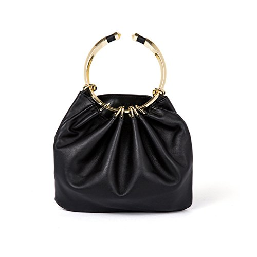 Party Black Tote Split Top Women's Bag Bag Female amp;OS ZJ Leather Handbag Evening Handle wqAfnqvO