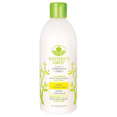 Jojoba + Sacred Lotus Revitalizing Shampoo 18 fl Ounce (532 ml) Liquid