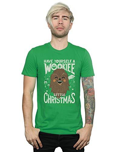Wookiee Wars Christmas Little Man Green irlandese T Star shirt vZwzBqHv