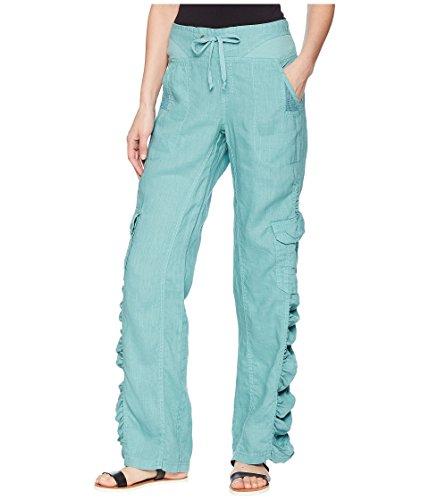 XCVI Women's Monte Carlo Linen Pants Marine Large 32 ()