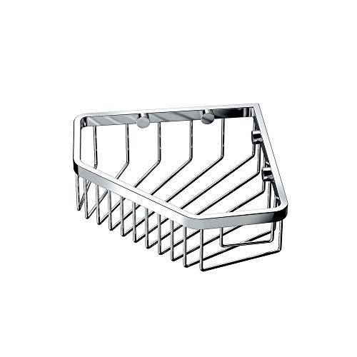 (Gatco 1499 8-1/2-Inch Shower or Tub Corner Basket,)