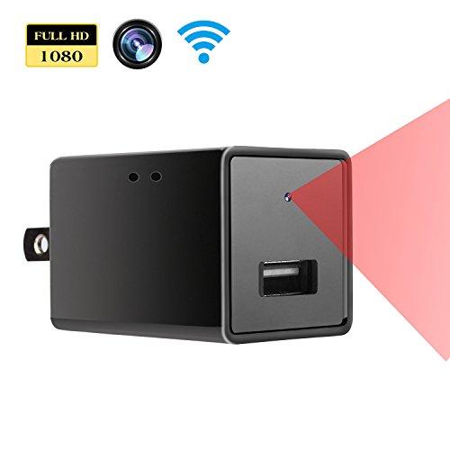 1080p Hd Camera P2p Wifi Ac Plug Hidden Camera Usb Wall