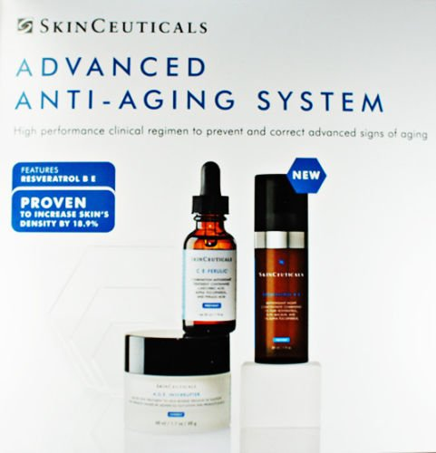Skinceuticals Advanced System with Resveratrol B E Ferulic Anti Aging New Fresh Product