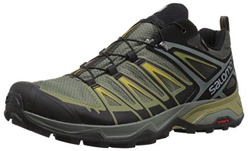 Salomon Men's X Ultra 3 GTX Hiking Boot, Castor Gray, 10.5 M US - Gtx Walking Boot